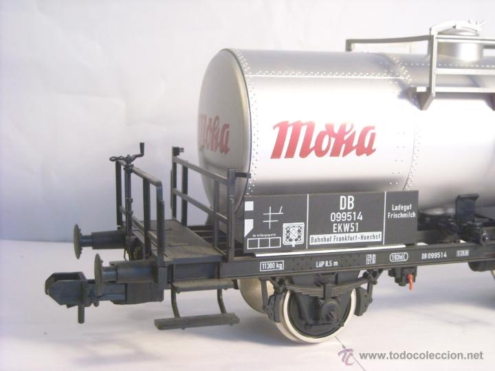 Trenes Escala: Marklin escala 1 1:32 ref 59861 vagon cisterna Moha Frankfurt de la DB spur1 Nuevo - Foto 2 - 39491382