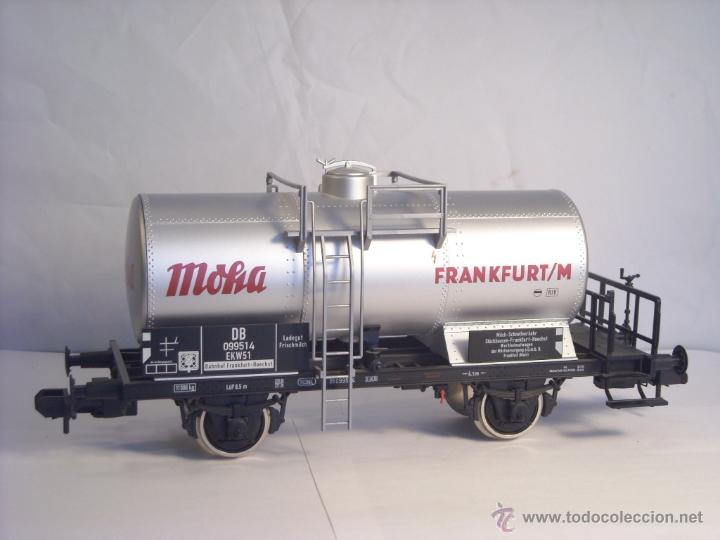 Trenes Escala: Marklin escala 1 1:32 ref 59861 vagon cisterna Moha Frankfurt de la DB spur1 Nuevo - Foto 5 - 39491382