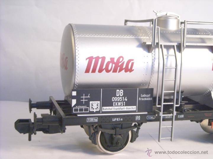 Trenes Escala: Marklin escala 1 1:32 ref 59861 vagon cisterna Moha Frankfurt de la DB spur1 Nuevo - Foto 6 - 39491382