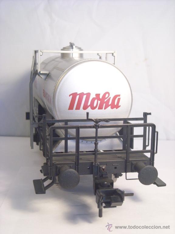 Trenes Escala: Marklin escala 1 1:32 ref 59861 vagon cisterna Moha Frankfurt de la DB spur1 Nuevo - Foto 8 - 39491382