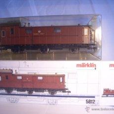 Trenes Escala: MARKLIN ESCALA 1 1:32 REF 5812 FURGON EQUIPAJES TRES EJES KPEV SPUR1 NUEVO. Lote 162932148