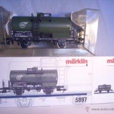 Trenes Escala: MARKLIN ESCALA 1 1:32 REF 5897 VAGON CISTERNA VTG DE LA DB SPUR1 NUEVO. Lote 39512866
