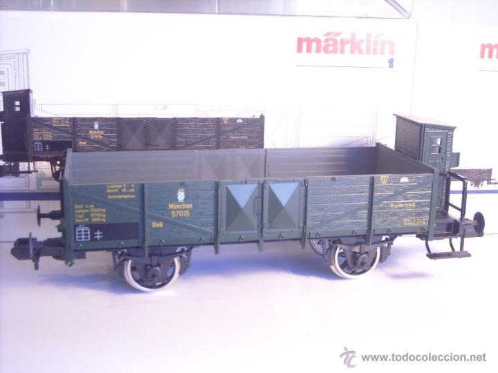 Trenes Escala: Marklin escala 1 1:32 ref 5858 vagón mercancias garita guardafrenos Epoca 1 spur1 Nuevo - Foto 2 - 39512791