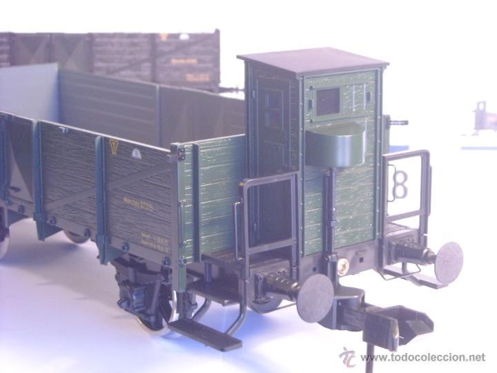 Trenes Escala: Marklin escala 1 1:32 ref 5858 vagón mercancias garita guardafrenos Epoca 1 spur1 Nuevo - Foto 5 - 39512791
