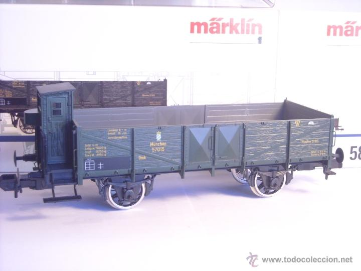 Trenes Escala: Marklin escala 1 1:32 ref 5858 vagón mercancias garita guardafrenos Epoca 1 spur1 Nuevo - Foto 6 - 39512791