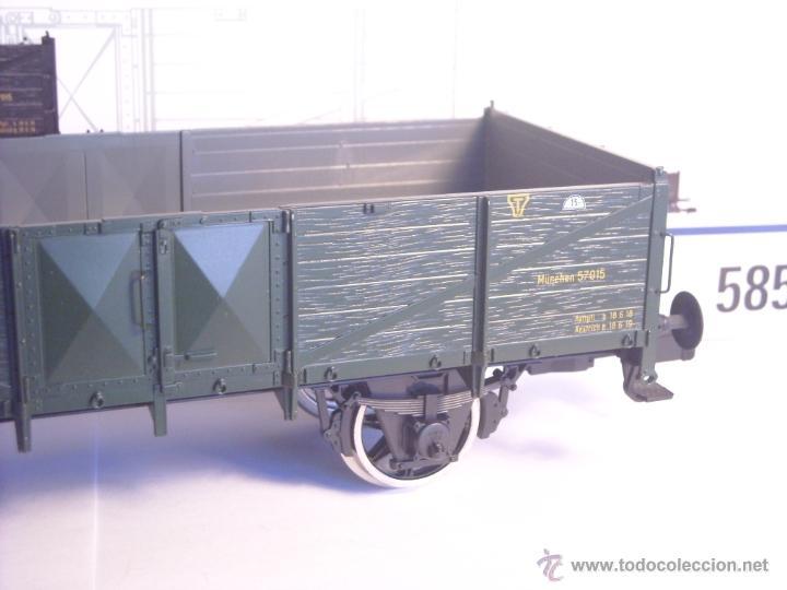 Trenes Escala: Marklin escala 1 1:32 ref 5858 vagón mercancias garita guardafrenos Epoca 1 spur1 Nuevo - Foto 8 - 39512791