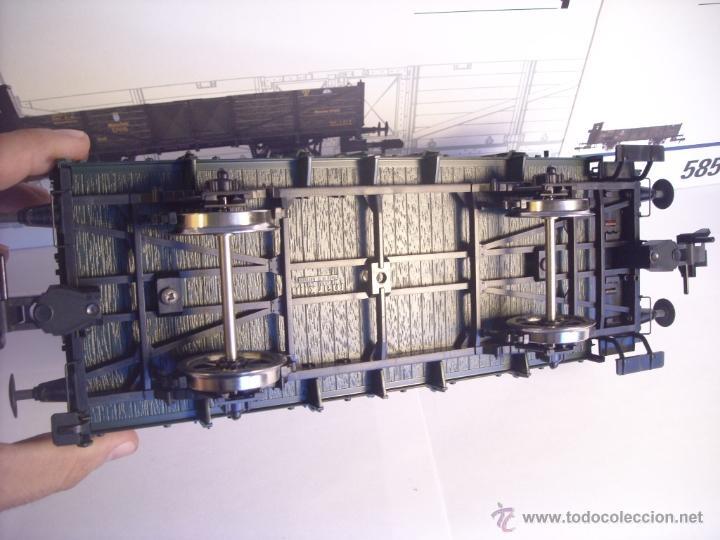 Trenes Escala: Marklin escala 1 1:32 ref 5858 vagón mercancias garita guardafrenos Epoca 1 spur1 Nuevo - Foto 10 - 39512791