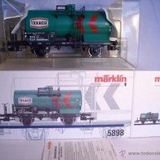 Trenes Escala: MARKLIN ESCALA 1 1:32 REF 5898 VAGON CISTERNA TEXACO DE LA DB SPUR1 NUEVO. Lote 39604780