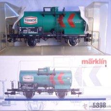 Trenes Escala: MARKLIN ESCALA 1 1:32 REF 5898 VAGON CISTERNA TEXACO DE LA DB SPUR1 NUEVO (2). Lote 39604943