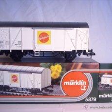 Trenes Escala: MARKLIN ESCALA 1 1:32 REF 5879 VAGÓN MERCANCIAS SINALCO DE LA DB SPUR1 . Lote 39630006