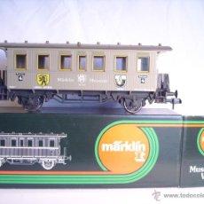 Trenes Escala: MARKLIN ESCALA 1 1:32 MUSEUM 85801 COCHE PASAJEROS MUSEO 1989 NUEVO VAGON SPUR1. Lote 39630321