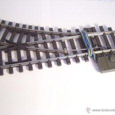 Trenes Escala: MARKLIN ESCALA 1 1:32 REF 5966 DESVIO DERECHA R600 CON MOTOR 5625 SPUR1. Lote 39540873
