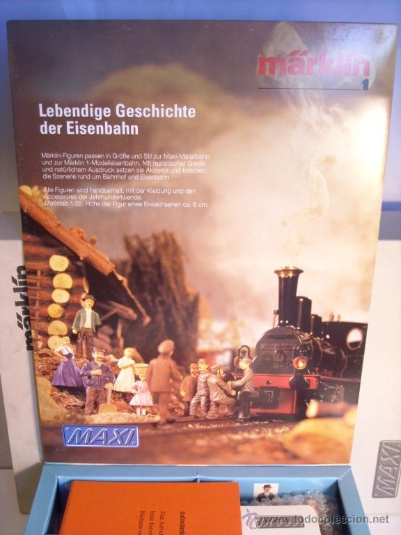 Trenes Escala: marklin escala 1 set de 10 figuras lote spur1 nuevas - Foto 2 - 39588920