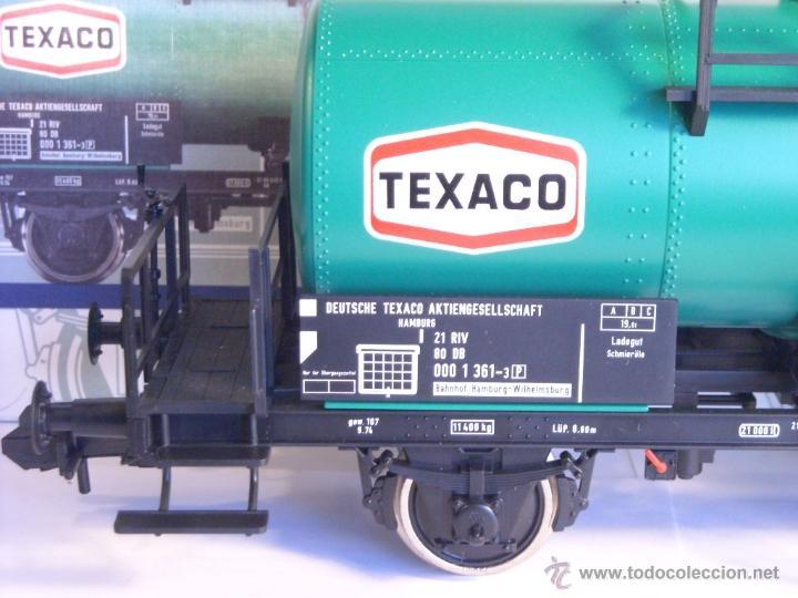 Trenes Escala: Marklin escala 1 1:32 ref 5898 vagon cisterna Texaco de la DB spur1 Nuevo - Foto 3 - 39604780