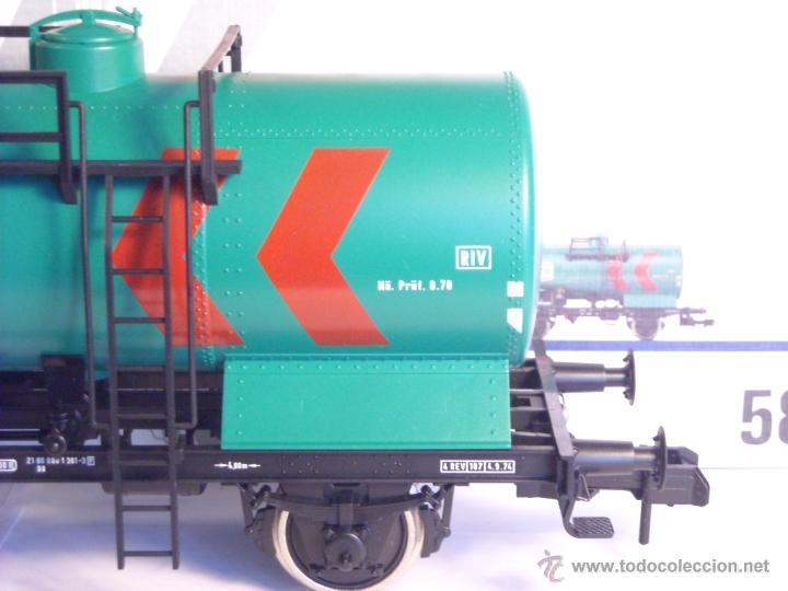 Trenes Escala: Marklin escala 1 1:32 ref 5898 vagon cisterna Texaco de la DB spur1 Nuevo - Foto 4 - 39604780