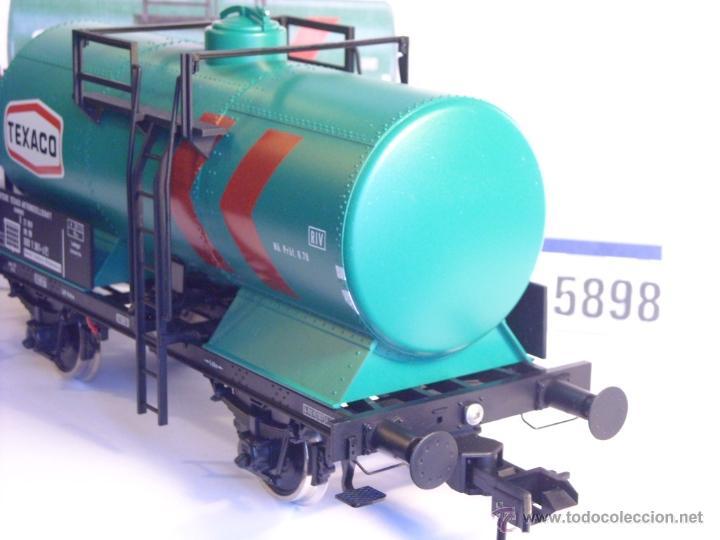 Trenes Escala: Marklin escala 1 1:32 ref 5898 vagon cisterna Texaco de la DB spur1 Nuevo - Foto 5 - 39604780