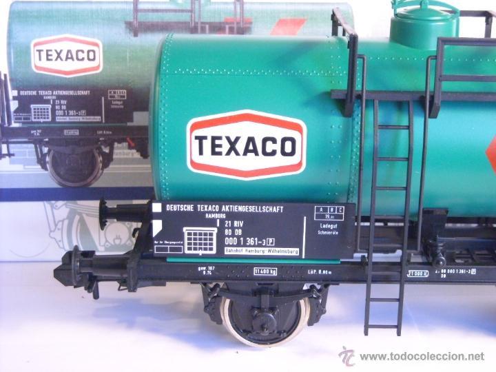 Trenes Escala: Marklin escala 1 1:32 ref 5898 vagon cisterna Texaco de la DB spur1 Nuevo - Foto 7 - 39604780