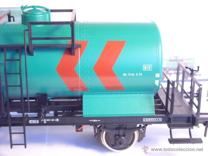 Trenes Escala: Marklin escala 1 1:32 ref 5898 vagon cisterna Texaco de la DB spur1 Nuevo - Foto 8 - 39604780