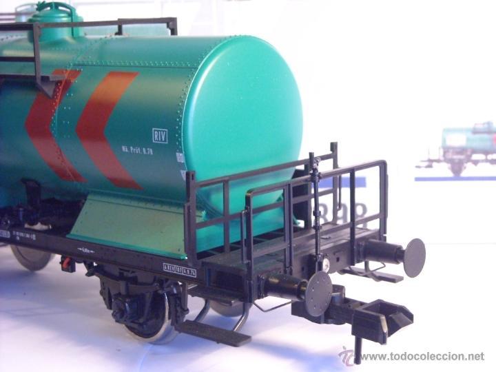Trenes Escala: Marklin escala 1 1:32 ref 5898 vagon cisterna Texaco de la DB spur1 Nuevo - Foto 9 - 39604780