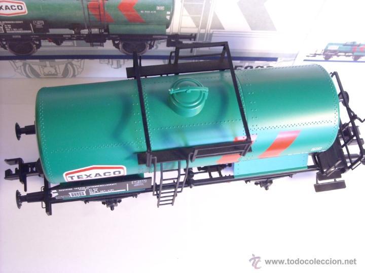 Trenes Escala: Marklin escala 1 1:32 ref 5898 vagon cisterna Texaco de la DB spur1 Nuevo - Foto 10 - 39604780