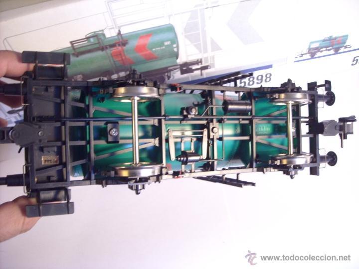Trenes Escala: Marklin escala 1 1:32 ref 5898 vagon cisterna Texaco de la DB spur1 Nuevo - Foto 11 - 39604780