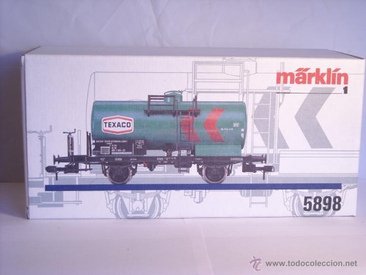Trenes Escala: Marklin escala 1 1:32 ref 5898 vagon cisterna Texaco de la DB spur1 Nuevo - Foto 12 - 39604780