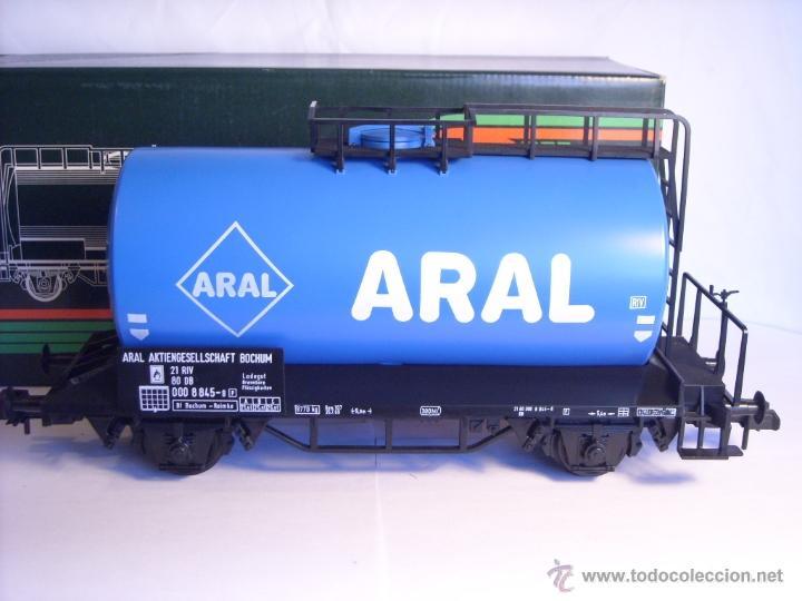 Trenes Escala: Marklin escala 1 1:32 ref 5867 vagon cisterna Aral de la DB spur1 - Foto 2 - 39629764