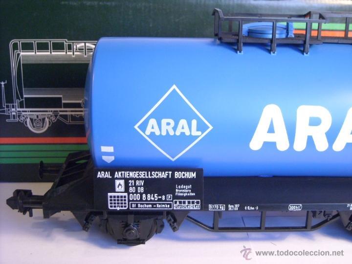 Trenes Escala: Marklin escala 1 1:32 ref 5867 vagon cisterna Aral de la DB spur1 - Foto 3 - 39629764