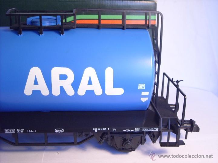 Trenes Escala: Marklin escala 1 1:32 ref 5867 vagon cisterna Aral de la DB spur1 - Foto 4 - 39629764