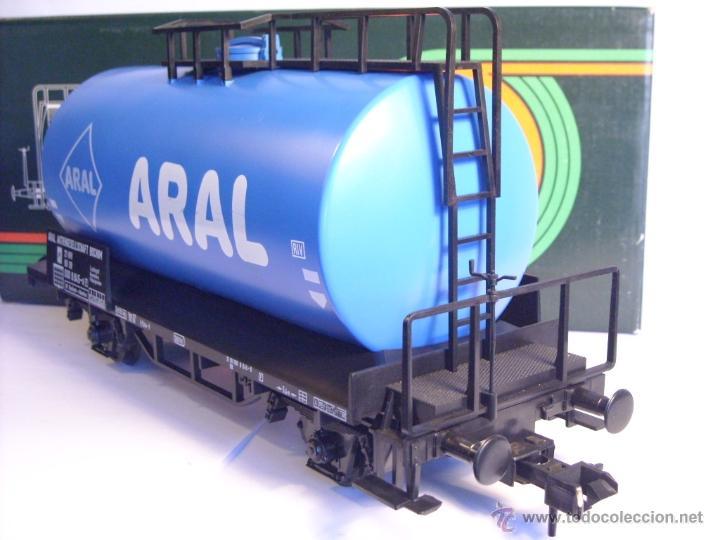 Trenes Escala: Marklin escala 1 1:32 ref 5867 vagon cisterna Aral de la DB spur1 - Foto 5 - 39629764
