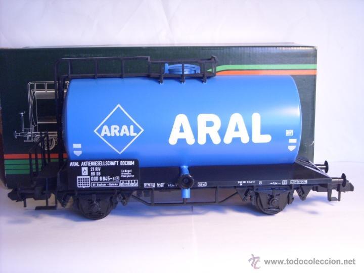 Trenes Escala: Marklin escala 1 1:32 ref 5867 vagon cisterna Aral de la DB spur1 - Foto 6 - 39629764