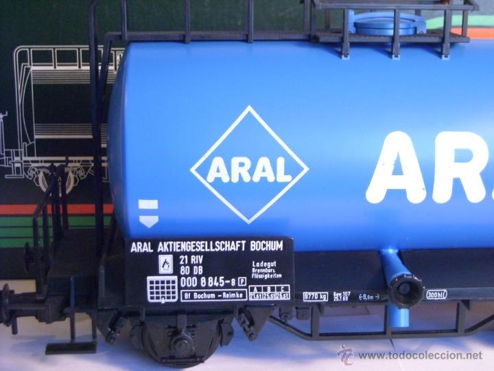 Trenes Escala: Marklin escala 1 1:32 ref 5867 vagon cisterna Aral de la DB spur1 - Foto 7 - 39629764