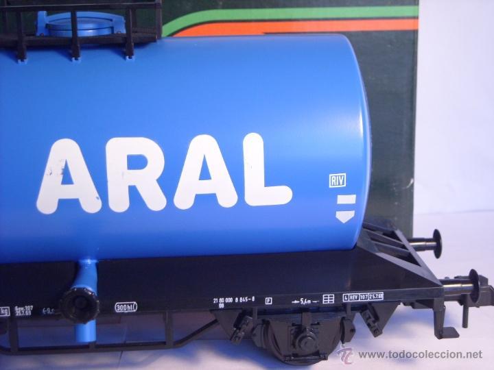 Trenes Escala: Marklin escala 1 1:32 ref 5867 vagon cisterna Aral de la DB spur1 - Foto 8 - 39629764