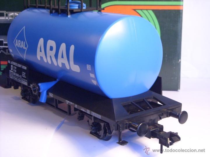 Trenes Escala: Marklin escala 1 1:32 ref 5867 vagon cisterna Aral de la DB spur1 - Foto 9 - 39629764