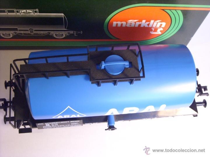 Trenes Escala: Marklin escala 1 1:32 ref 5867 vagon cisterna Aral de la DB spur1 - Foto 10 - 39629764