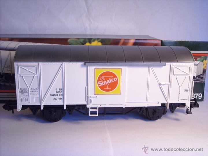 Trenes Escala: Marklin escala 1 1:32 ref 5879 vagón mercancias Sinalco de la DB spur1 - Foto 2 - 39630006