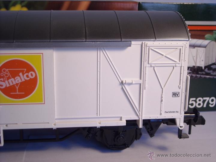 Trenes Escala: Marklin escala 1 1:32 ref 5879 vagón mercancias Sinalco de la DB spur1 - Foto 4 - 39630006