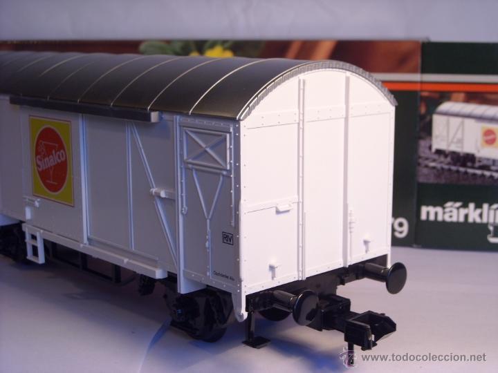 Trenes Escala: Marklin escala 1 1:32 ref 5879 vagón mercancias Sinalco de la DB spur1 - Foto 5 - 39630006