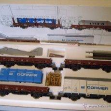 Trenes Escala: MARKLIN ESCALA 1 1:32 REF 5803 SET DORNIER COMPLETO 4 VAGONES SPUR1 NUEVO. Lote 40960460