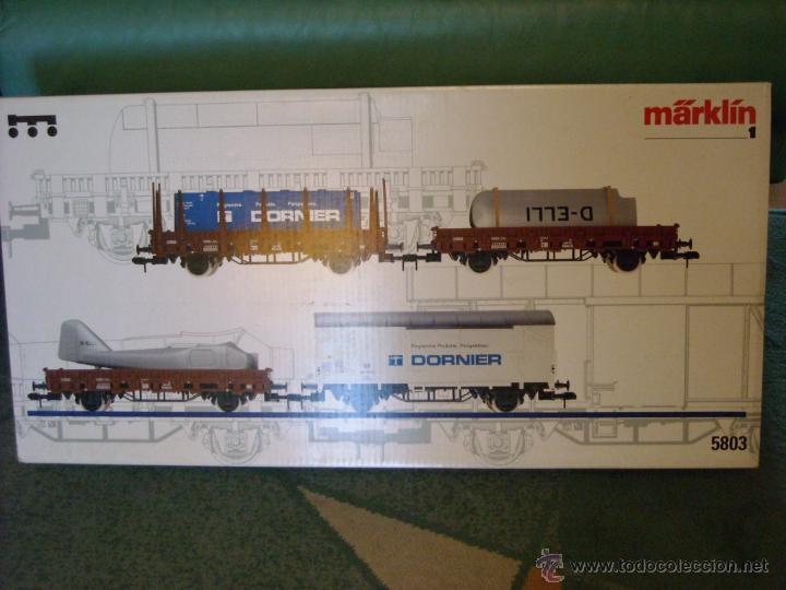 Trenes Escala: Marklin escala 1 1:32 ref 5803 set dornier completo 4 vagones spur1 Nuevo - Foto 21 - 40960460