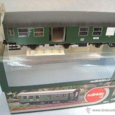 Trenes Escala: MARKLIN ESCALA 1 1:32 REF 5811 COCHE PASAJEROS 2ª CLASE PAQUETERIA DE LA DB TRES EJES VAGON SPUR1. Lote 39983144