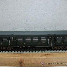 Trenes Escala: JOUEF REF:5102-COCHE DE 2ª CLASE DE LA SNCF -ESCALA HO-. Lote 39982715