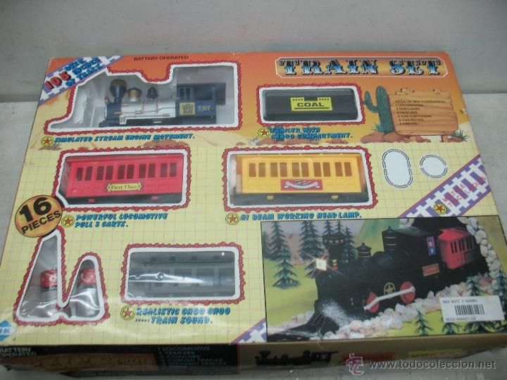 TRAIN SET - ROYAL BLUE 9301 (Juguetes - Trenes - Varios)