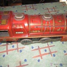 Trenes Escala: MAQUINA DE TREN DE HOJALATA DE JUGUETE .. Lote 40408148