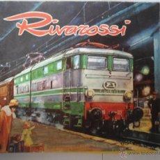 Trenes Escala: CATALOGO MAQUETAS DE TREN RIVAROSSI AÑO 1965-66. Lote 40655158