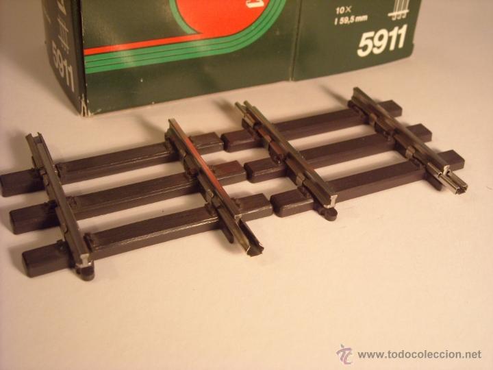 Trenes Escala: Marklin escala 1 1:32 ref 5911 via recta 59,5mm Spur1 - Foto 2 - 40921039