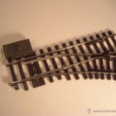 Trenes Escala: MARKLIN ESCALA 1 1:32 REF 5966 DESVIO DERECHAS R600 30º CON MOTOR 5625 SPUR1. Lote 40921167