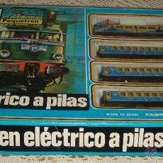 tren electrico a pilas Pequetren completo
