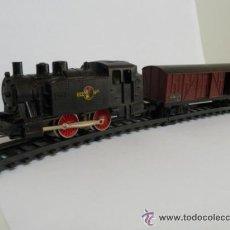 Trenes Escala: LOCOMOTORAS Y VAGONES ESCALA HO. Lote 41831016