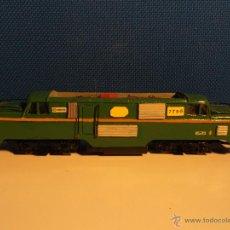 Trenes Escala: LOCOMOTORA VERDE.. Lote 43670290